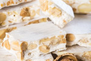 Nougat or turron for Christmas