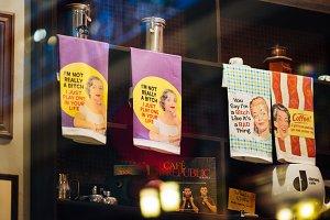 Printed Towel Sign