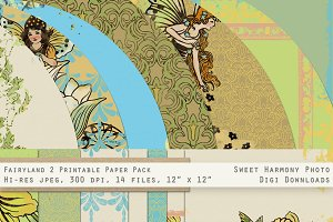 Fairyland Daffodil Days Paper Pack