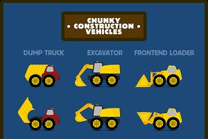 Chunky Construction Vehicles