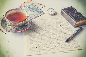 Vintage correspondence