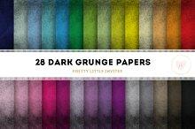 Dark Grunge Digital Papers