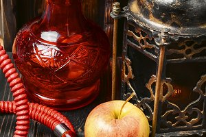 Shisha and apple