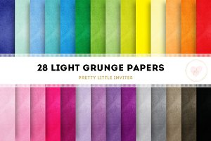Light Grunge Digital Papers