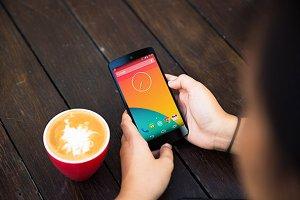 Nexus5 Template, Coffee Break (L)