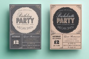 Bachelorette/Birthday Invitation