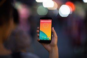 Nexus5 Template, Chinatown (S)