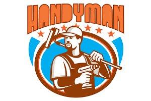 Handyman Cordless Drill Paint Roller