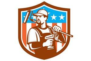 Handyman Cordless Drill Paintroller