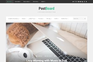 PostBoard WordPress Theme