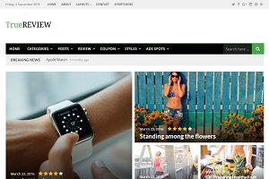 TrueReview WordPress Theme