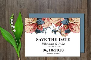 Save the Date Flower