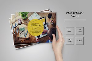 Portfolio Template Indesign Vo.II
