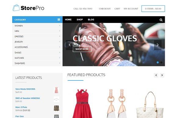 StorePro WordPress Theme