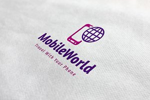 Mobile World Logo