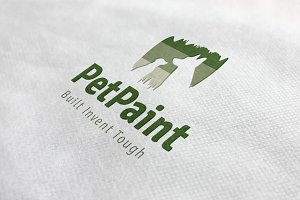 Pet Paint Logo
