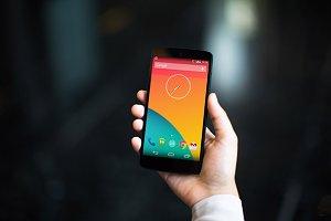 Nexus5 Template, Marble (S)