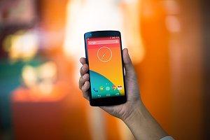 Nexus5 Template, Orangetastic (S)