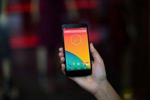 Nexus5 Template, Red Shop (S)