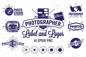 Photography Label and Logos