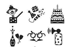 Celebration flat iconset