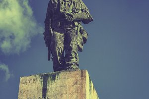 Monument for Che Guevara in Cuba
