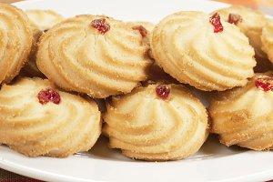 Kurabie biscuits (cakes)