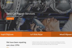CarService - Car Repair Template