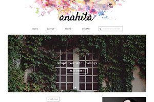 Anahita - Feminine WordPress Theme