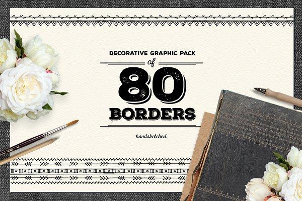 80 Decorative Borders
