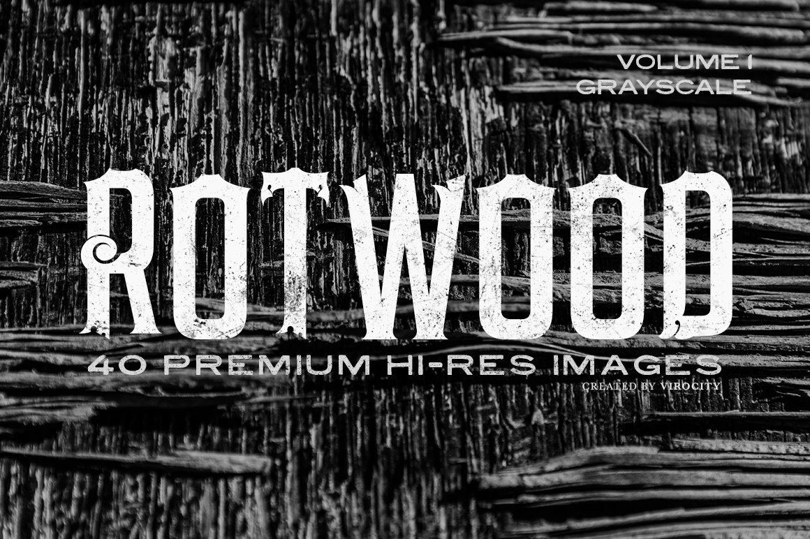 Rotwood v1 Grayscale ~ Textures ~ Creative Market