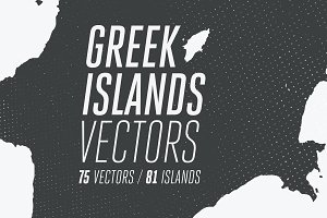 20% OFF | 81 Greek Islands Vectors