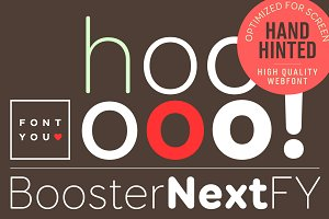 Booster Next FY Family (6 fonts)