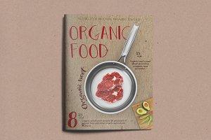 Organic Food Brochure / Magazine