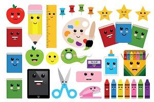 Cute Classroom Clip Art Set