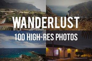 Wanderlust Photo Set 100