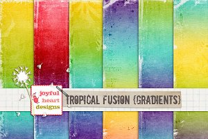 Tropical Fusion {gradients}