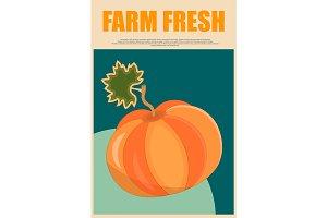 Farm Fresh Pumpkin