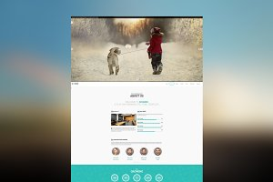 Zoomer - One Page WordPress Theme