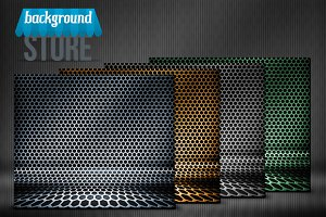 Metal Hex Grid Stage