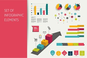 Infographic set elements.