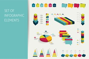 Infographic set elements.