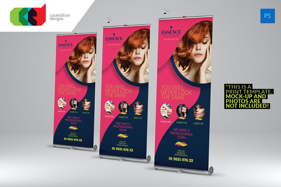 Photo Banner Stand Design Templates Images