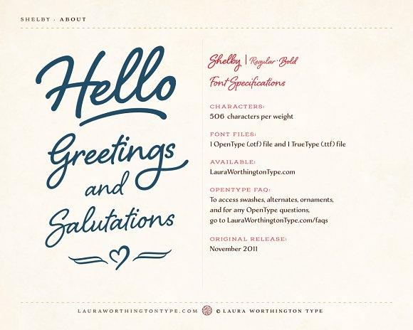Shelby regular script fonts creative market stopboris Images