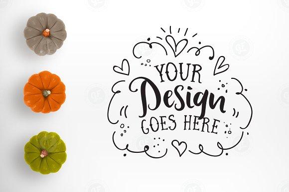 Funky Pumpkins Autumn Styled Desktop