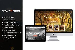 Fantasy Posters - Wordpress Theme