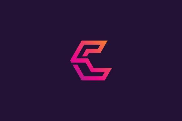 Tech Line Letter C Logo
