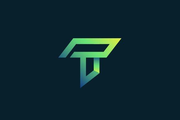 Letter T Line Logo Templates Creative Market