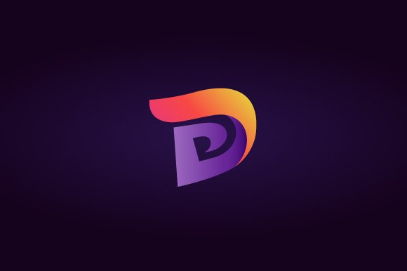 Abstract letter d logo logo templates creative market thecheapjerseys Images