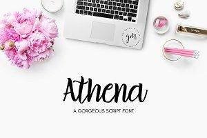Athena | Gorgeous Script Font
